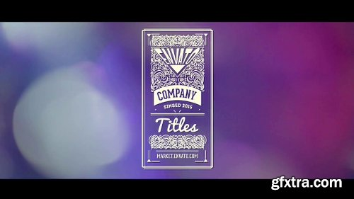Videohive Vintage Titles Pack 10691019