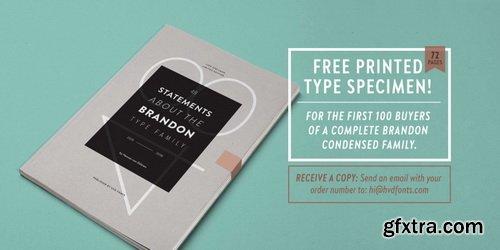 Brandon Grotesque Condensed Font Family