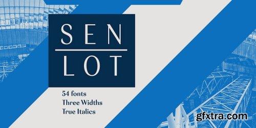 Senlot Font Family - 54 Fonts