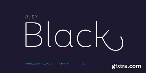Mohr Rounded Font Family - 27 Fonts