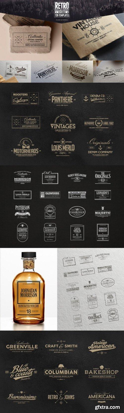 MightyDeals 1300+ Premium Logo Templates Vintage Modern & More