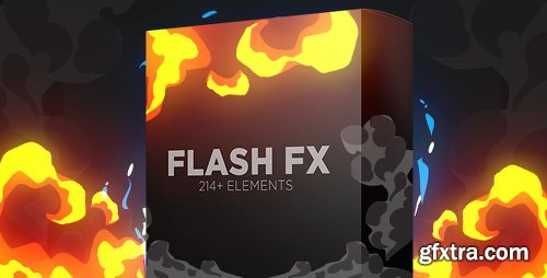 Videohive Flash Fx Elements | Hand Drawn Bundle Pack 15408048