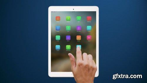 Videohive Tablet Presentation Pack 12266893
