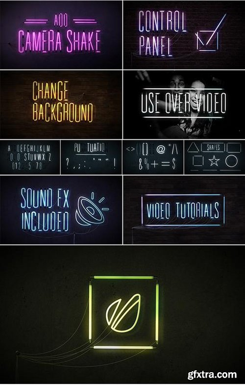 Videohive Animated Lightbulb Typeface 18398522