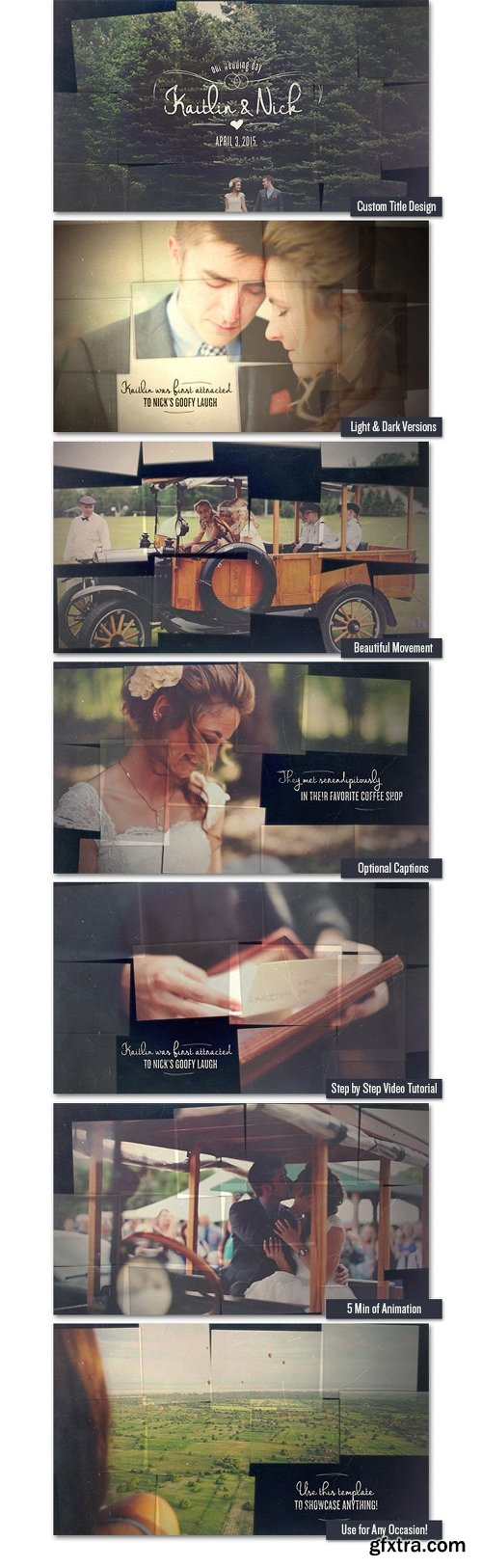 Videohive Wedding & Memory Collage 11211577