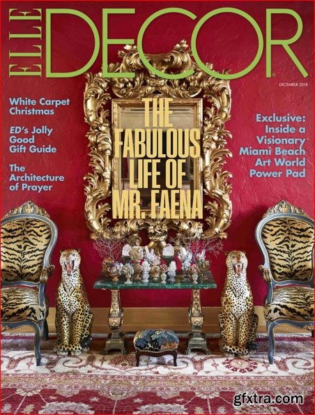 Elle Decor USA - December 2018