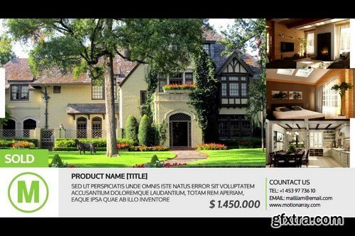 Simple Real-Estate SlideShow After Effects Templates