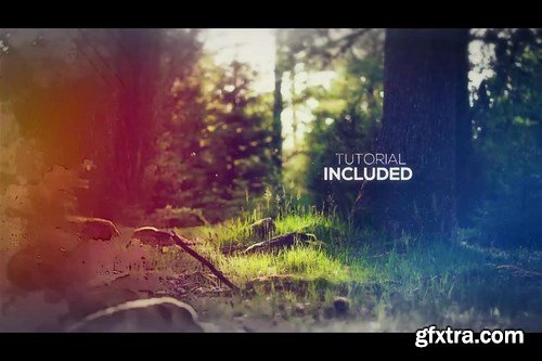 Watercolor and Ink Slideshow After Effects Templates 29691