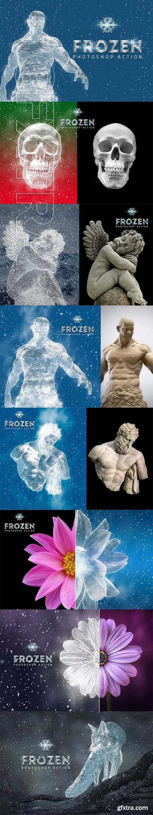 CreativeMarket - Frozen Ice Photo Effect 3119587