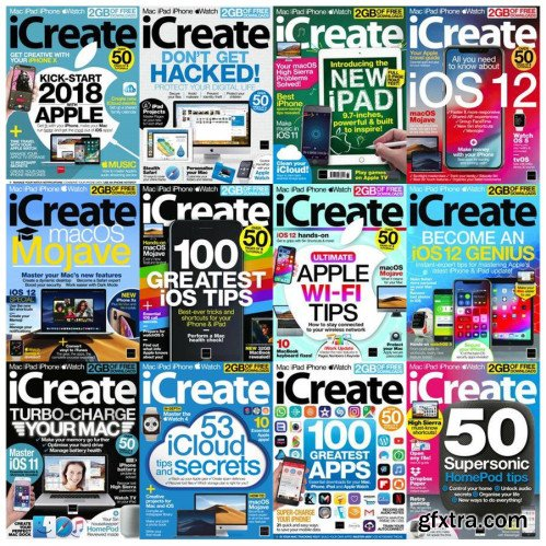 iCreate UK - Full Year Issues Collection 2018