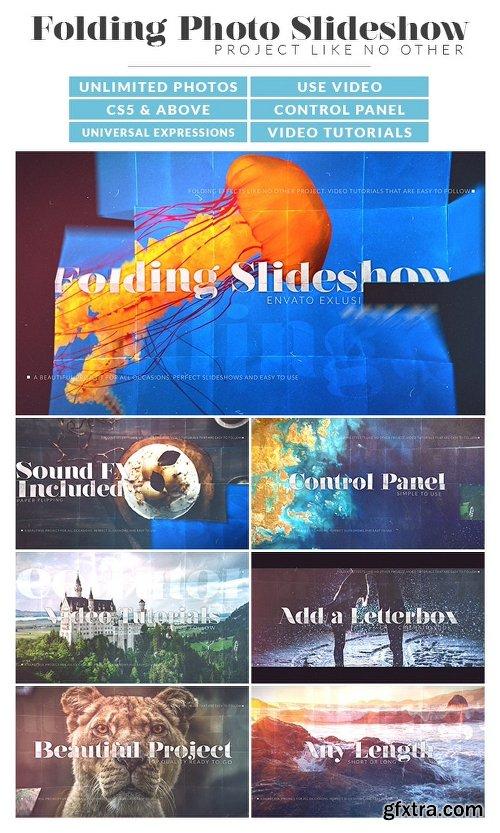 Videohive Folding Photos Slideshow 15866337