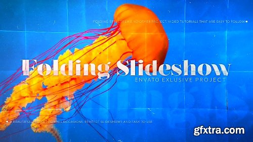 Videohive Folding Photos Slideshow 15866337