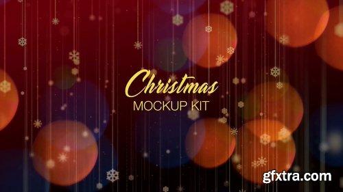 Videohive Christmas Mockup Kit 21116723
