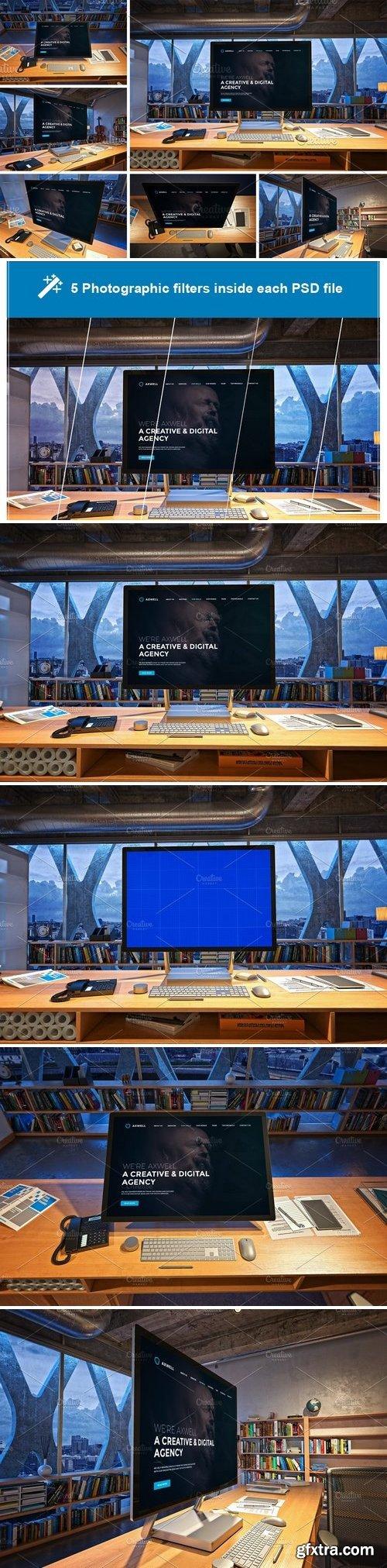 CM - Surface Studio in office V.2 3091192