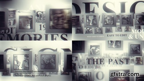 Videohive The Past Memories Opener 22735121