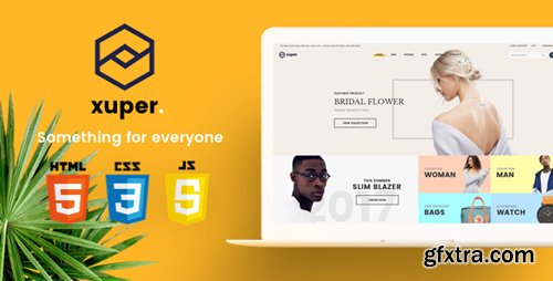 ThemeForest - Xuper v1.0 - eCommerce HTML5 Template - 21482178