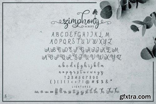 Zimphony Duo Font Family - 3 Fonts