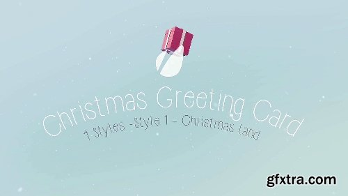 Videohive Christmas Card Package 9614673