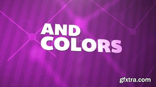 Videohive Connect the Dots Text and Pictures Animation 3888215