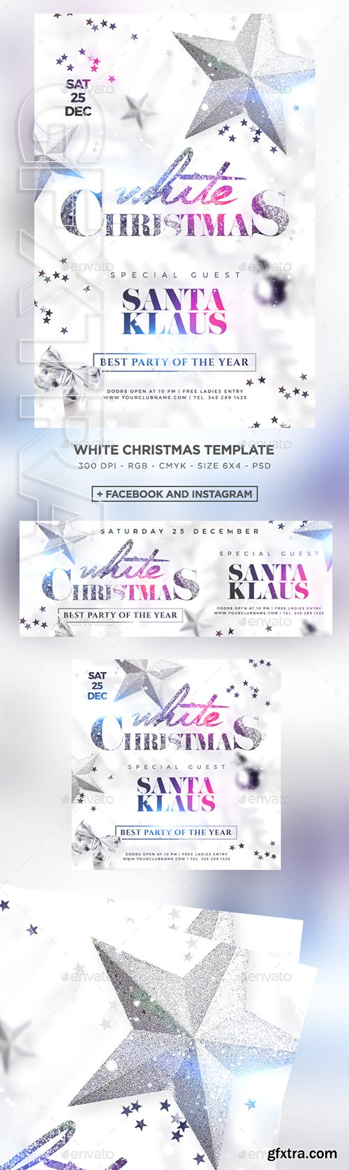 GraphicRiver - White Christmas Party 22780496