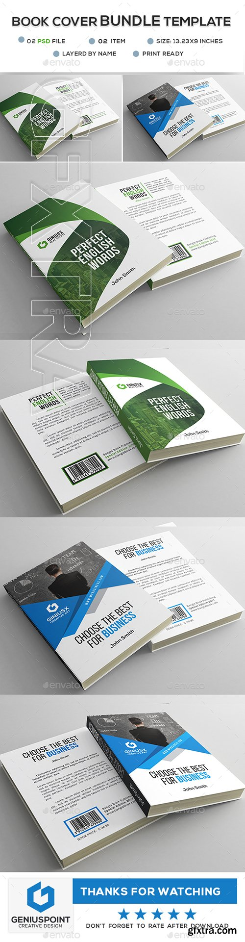 GraphicRiver - Book Cover Bundle 22762946