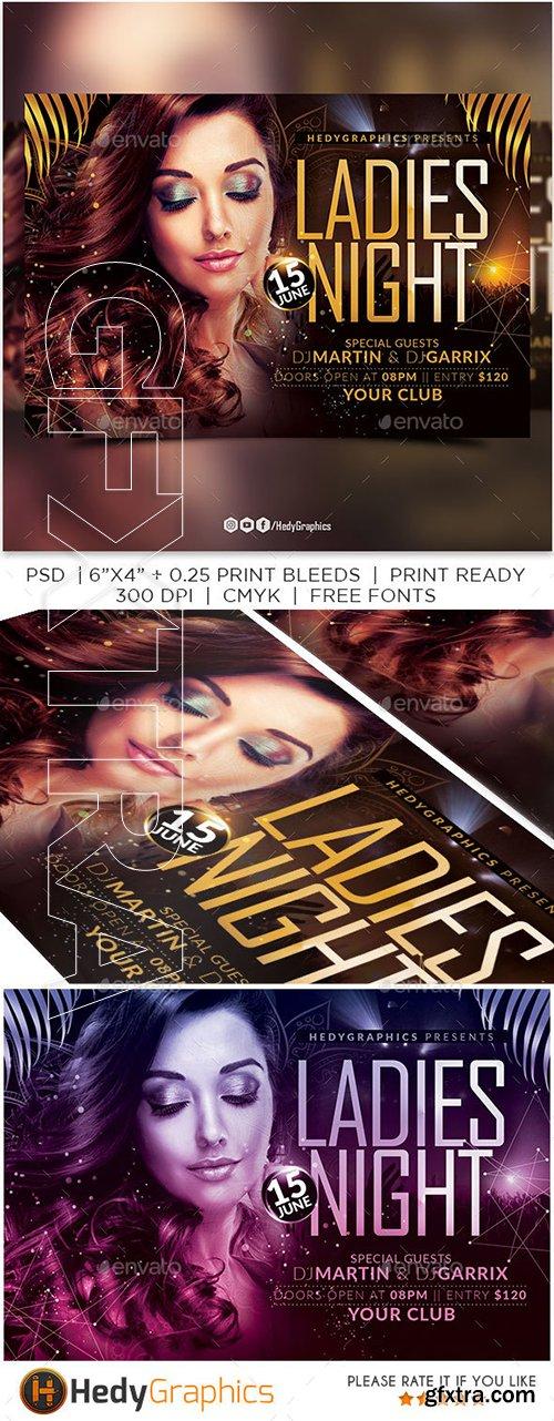 GraphicRiver - Ladies Night Flyer 22791331