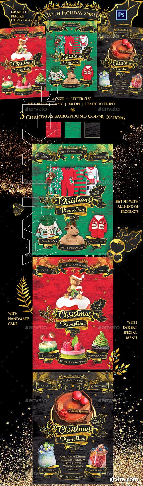 GraphicRiver - Christmas Promotion Flyer Template 22761101