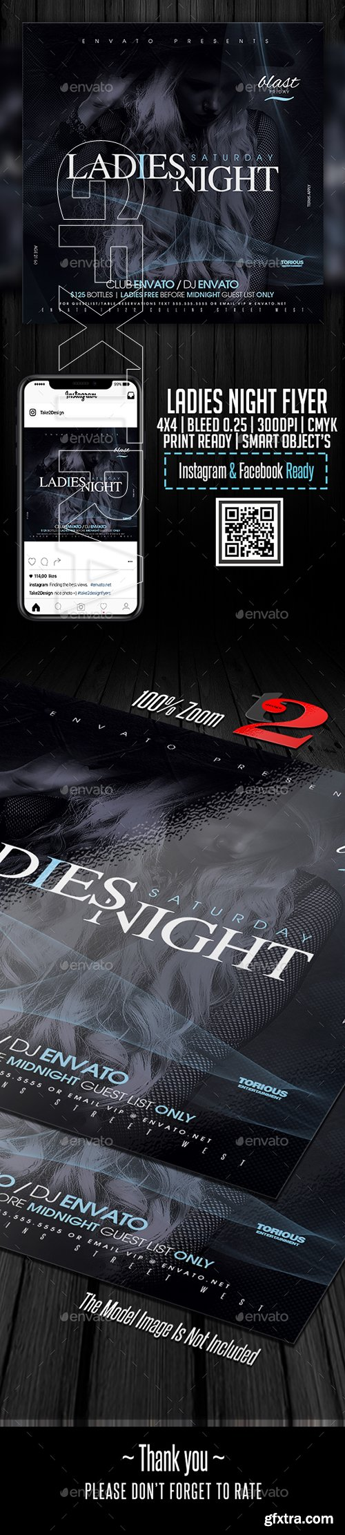 GraphicRiver - Ladies Night Flyer Template 22779221