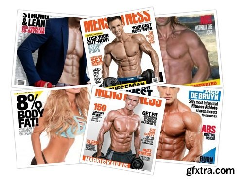 Men\'s Fitness South Africa - 2018 Full Year Issues Collection