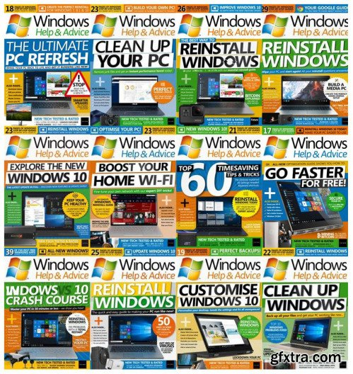Windows Help & Advice - 2018 Full Year Issues Collection