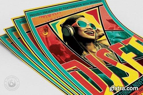 DJ Guest Flyer Template V6