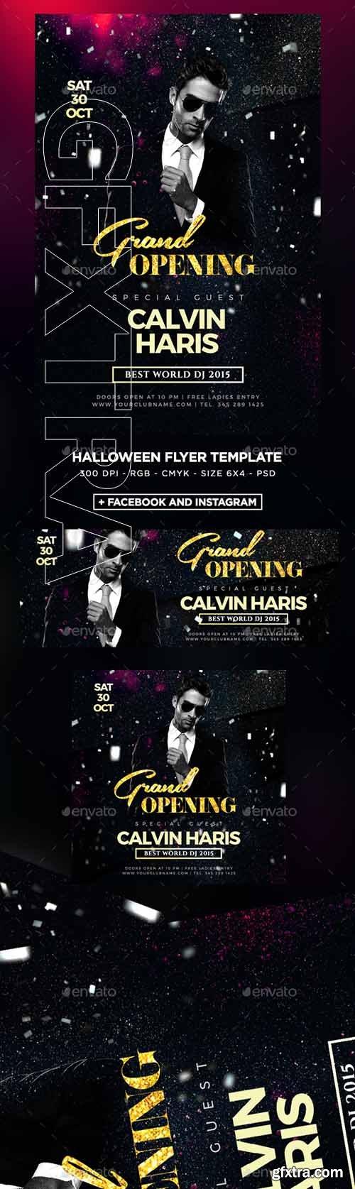 GraphicRiver - DJ Flyer 22730015