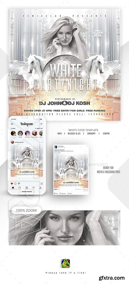 GraphicRiver - White Party Template 22761213