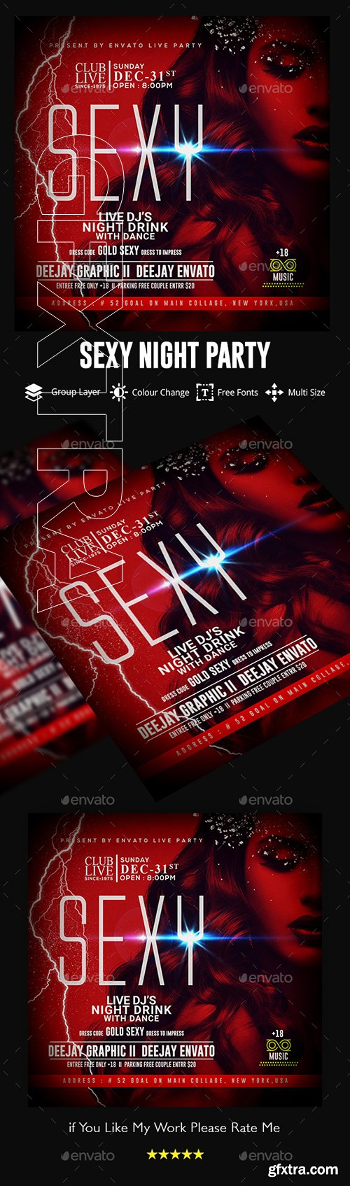 GraphicRiver - Guest DJ Artist Flyer 22719496