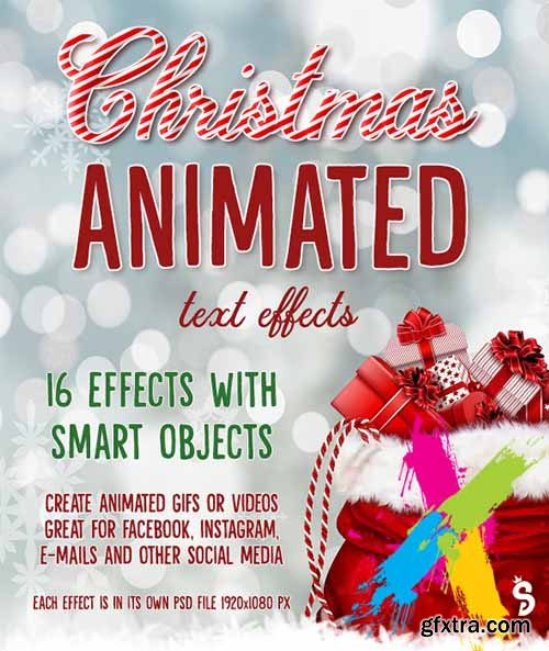 GraphicRiver - Christmas Animated Text Effects 22740532