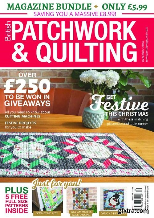 Patchwork & Quilting UK – December 2018