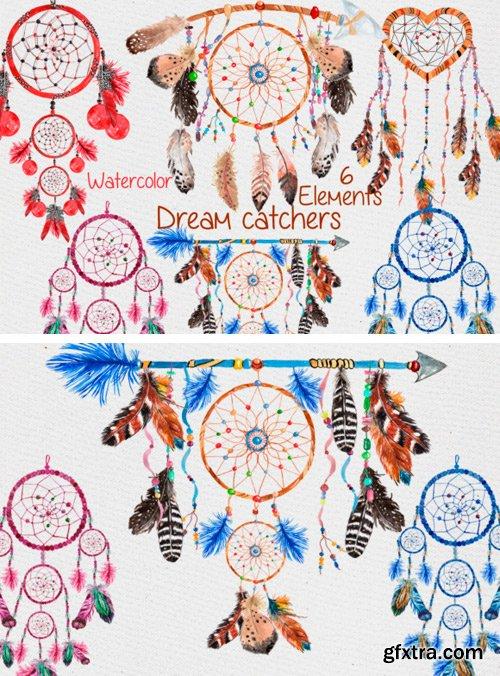 Creativefabrica - Dreamcatchers Clipart 489711