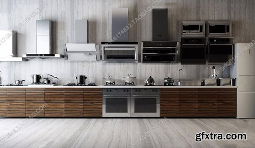Kitchen Appliances 03 3d Models