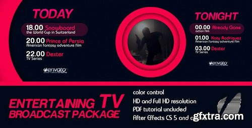 Videohive Entertaining TV Broadcast Package 6278769
