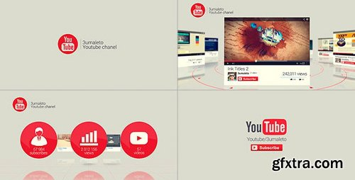 Videohive My Youtube and Vimeo Channel 7862119