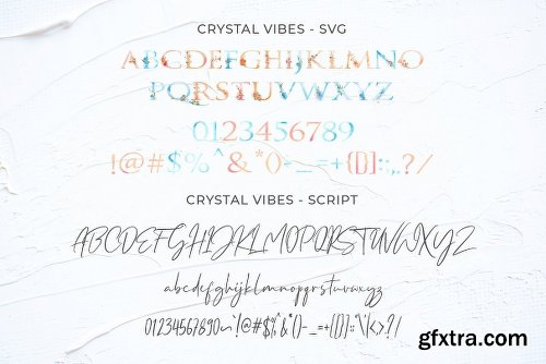 CreativeMarket 50% Off - Crystal Vibes & Extras 2838220