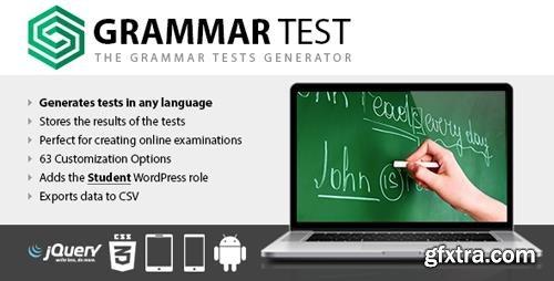 CodeCanyon - Grammar Test v1.15 - 14561310