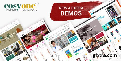 ThemeForest - CosyOne v1.5 - Furniture, Interior, Drugstore, Lingerie, Electronics, Clothing HTML Template - 8676862