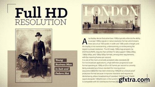 Videohive History Magazine 11712779
