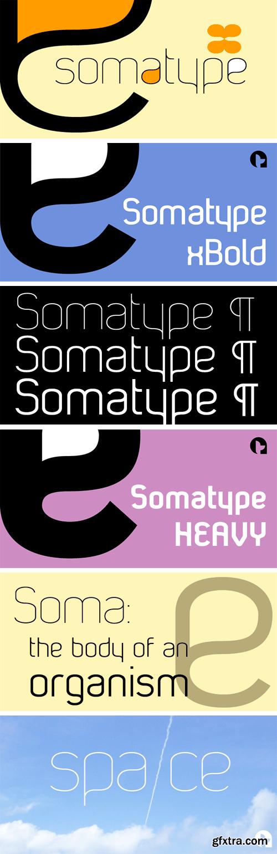Somatype Font Family
