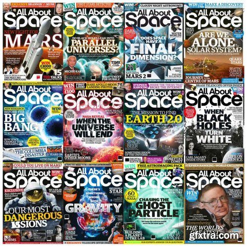 All About Space - Full Year Issues Collection 2018