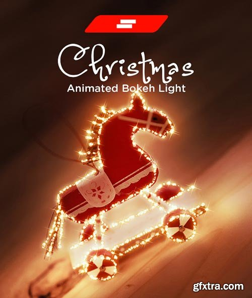 GraphicRiver - Gif Animated Christmas Bokeh Light Photoshop Action - 22816406