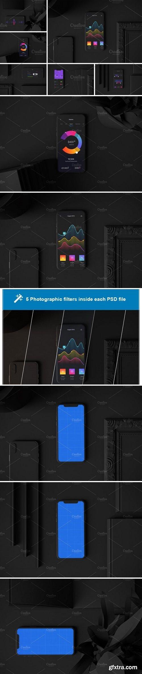 CM - Dark iPhone XS in studio 3113759
