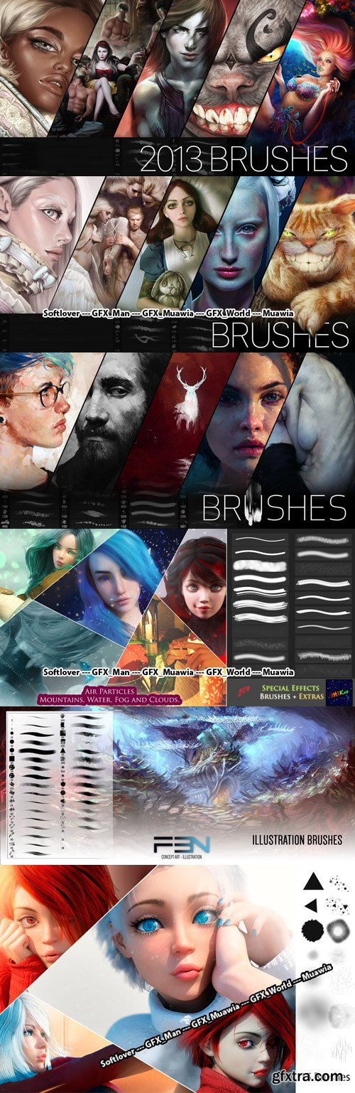 Art & Painting Photoshop Brushes Collection