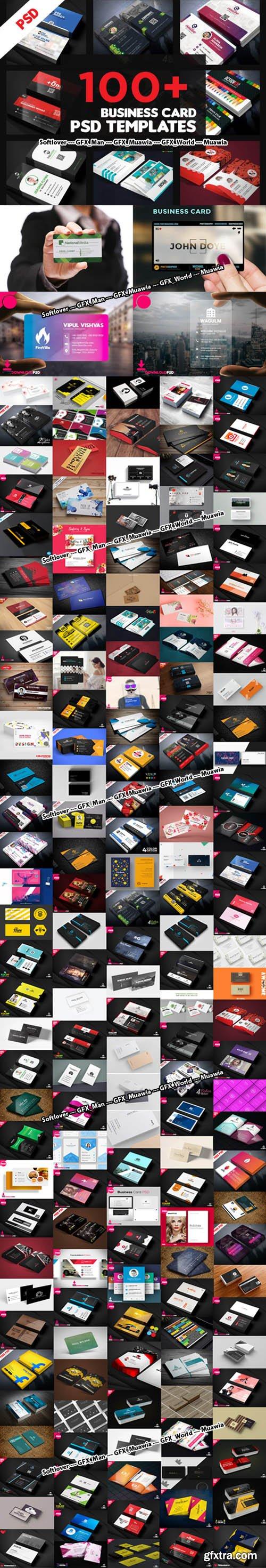 150+ Business Card PSD Templates